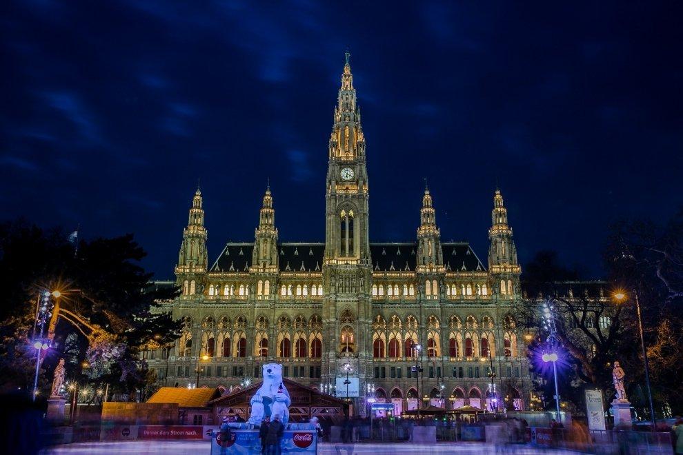 Vianočné trhy Vídeň