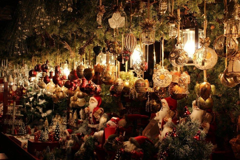 Vianočné trhy stánok