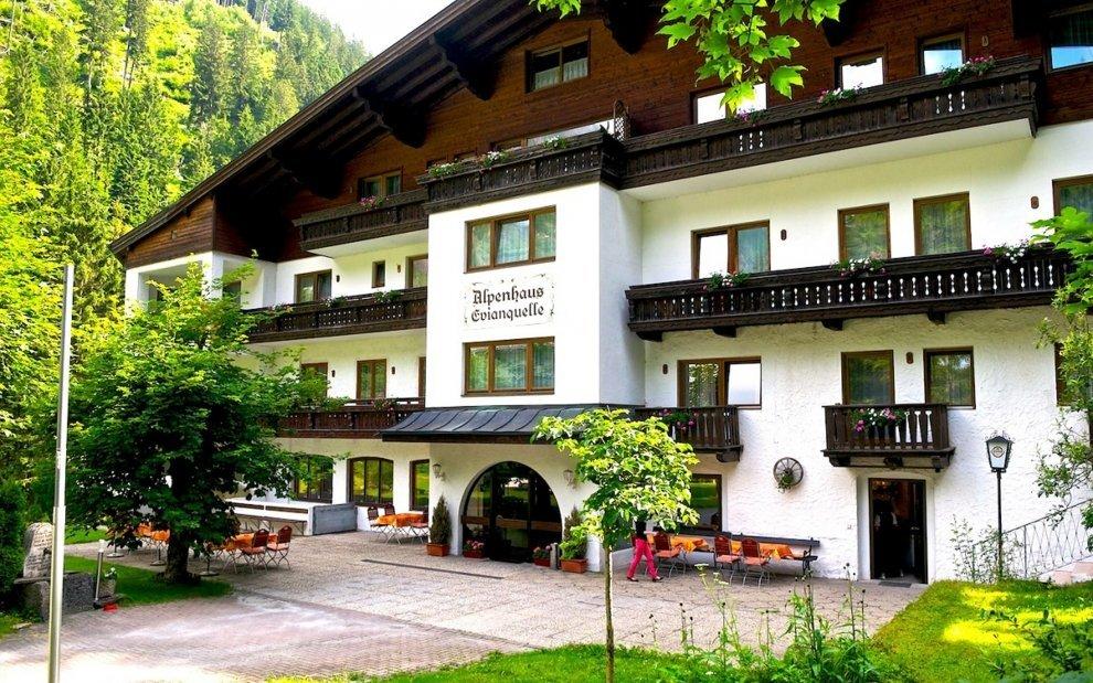 Hotel Evianquelle je ideální pro dovolenou v Alpách