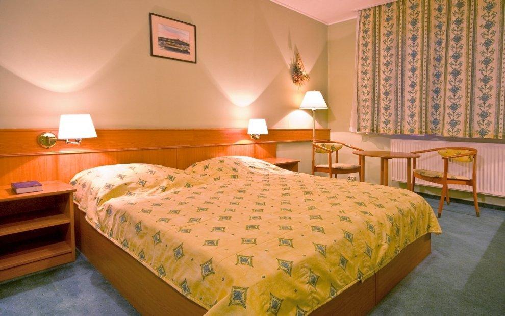 Izby v Thermal hoteli sú príjemné zariadené