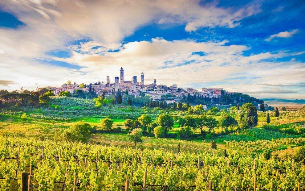 Toskánsko - San Gimignano