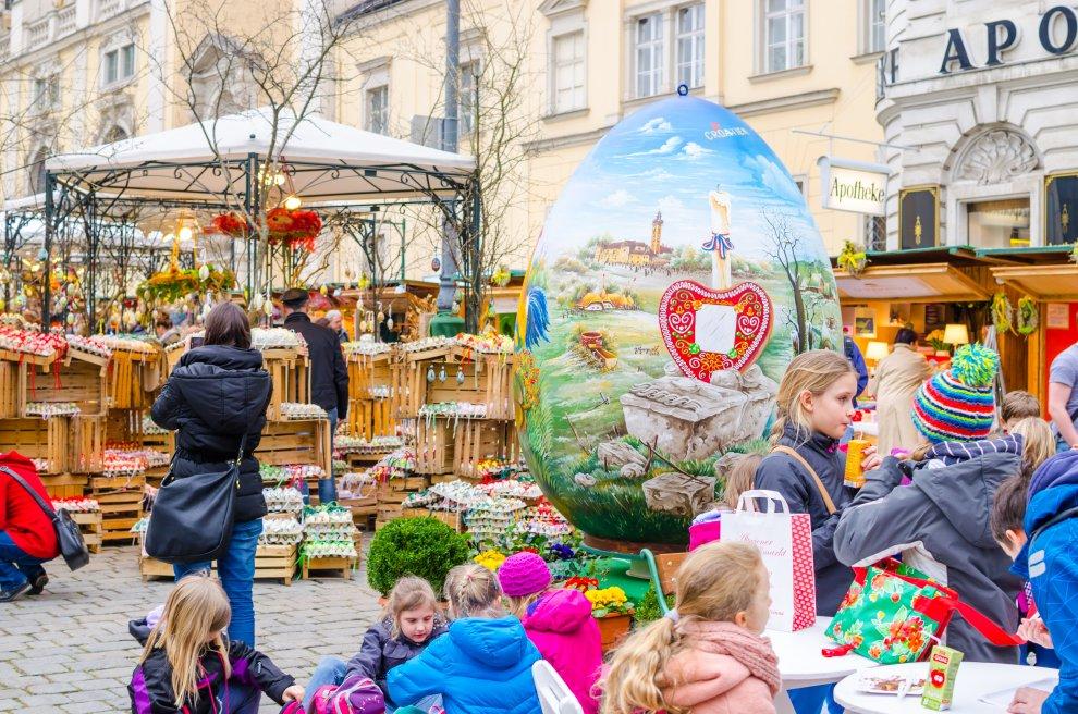 Veľkonočné trhy Viedeň