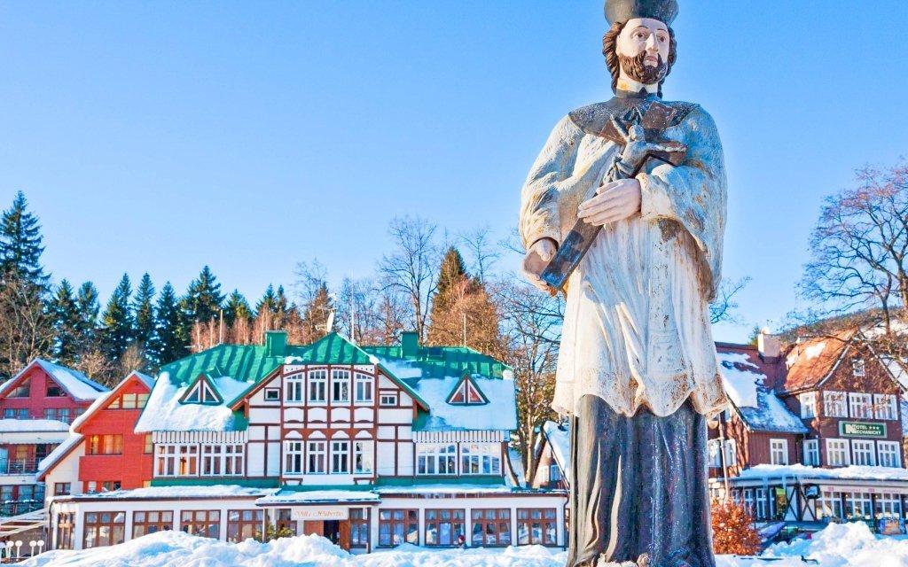 Špindlerův Mlýn v Chatě Michlák na břehu Labe s polopenzí a blízko ski areálů