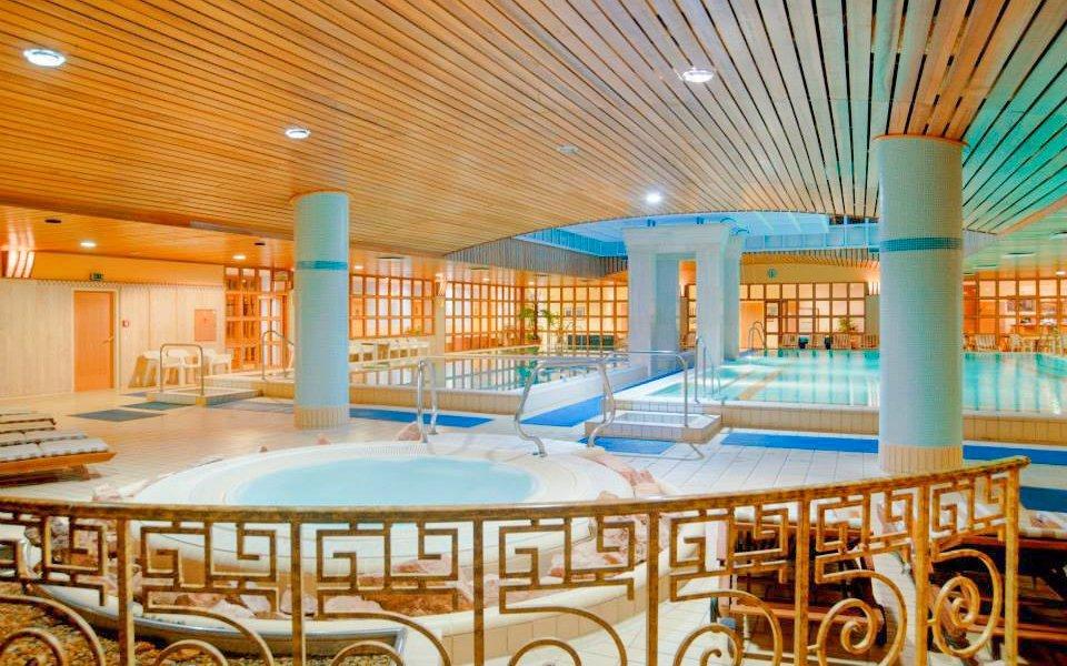 Budapešť blízko centra v The Aquincum Hotelu Budapest **** s termálními bazény