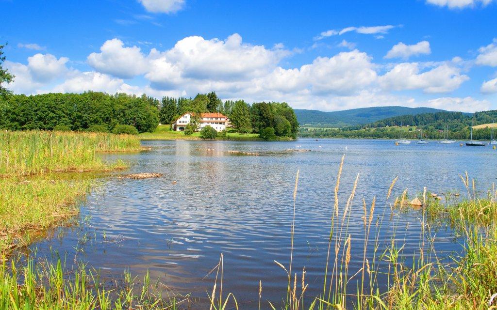 Lipno: Relaxace v Hotelu Hořice na Šumavě s polopenzí, saunou a masáží