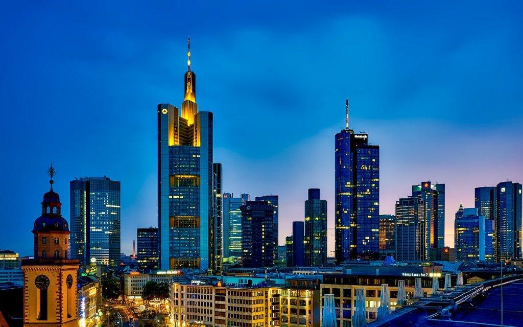 Frankfurt nad Mohanem v centru v hotelu A&O Frankfurt Galluswarte se snídaní