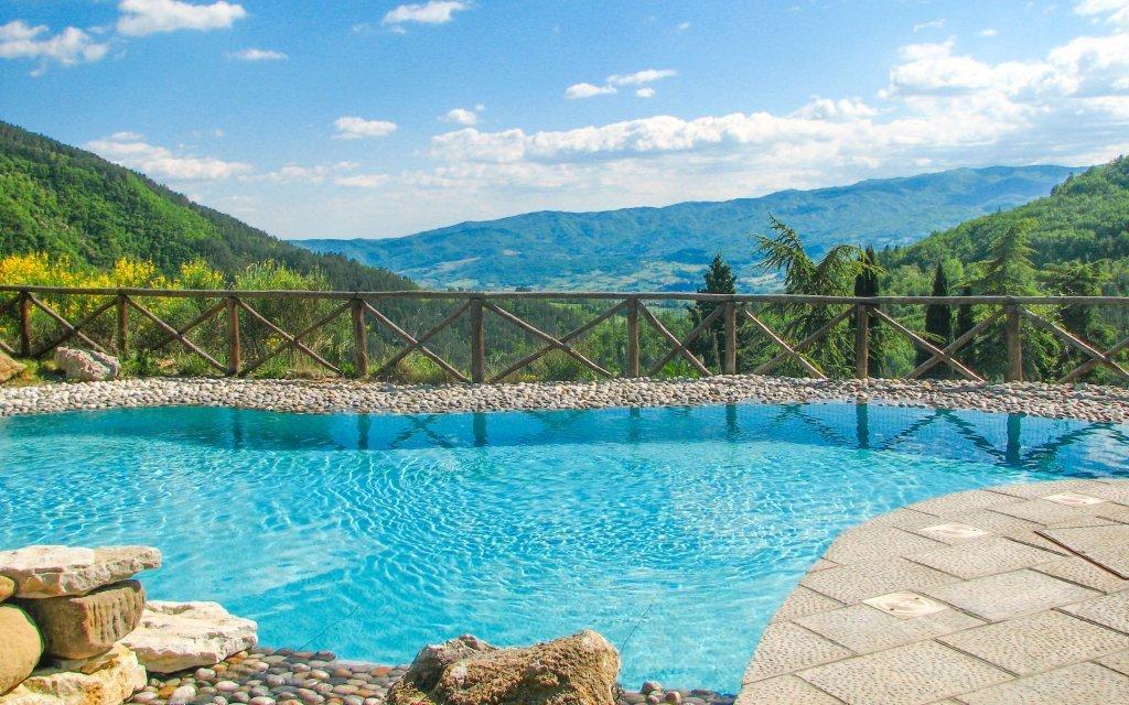 Toskánsko se snídaní a bazénem v Hotelu Borgo I Tre Baroni **** na 4 dny