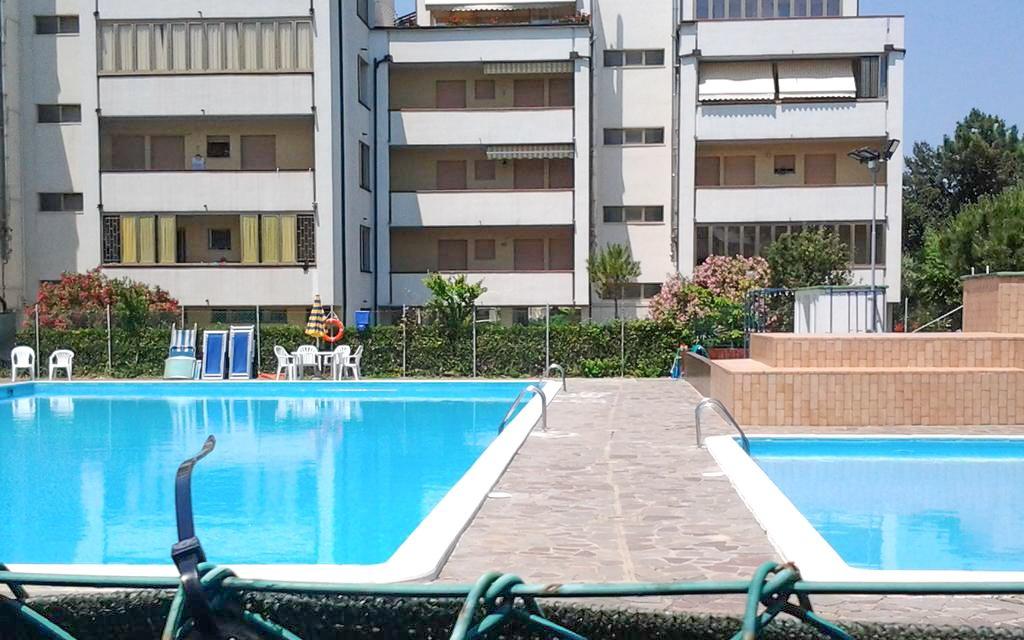 Itálie u pláže na 8 dní v apartmánech Residence Mosaico Piscina s bazénem