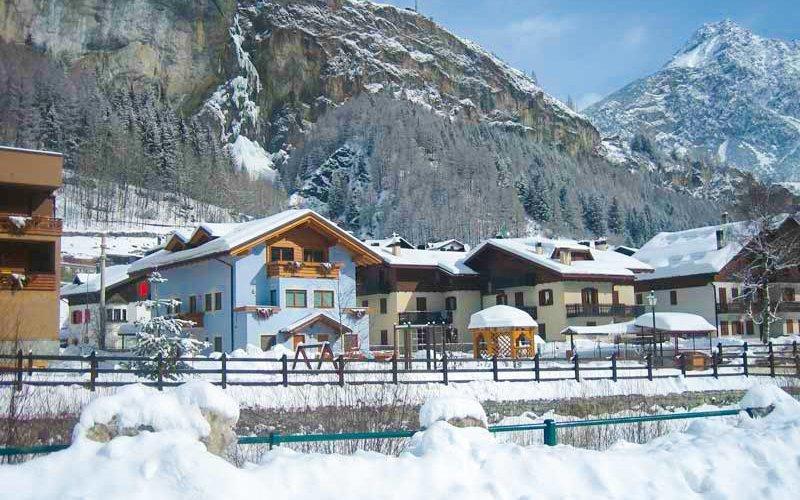 Itálie na 4 - 8 dní v Hotelu La Val s polopenzí jen 500 m od lyžařského vleku