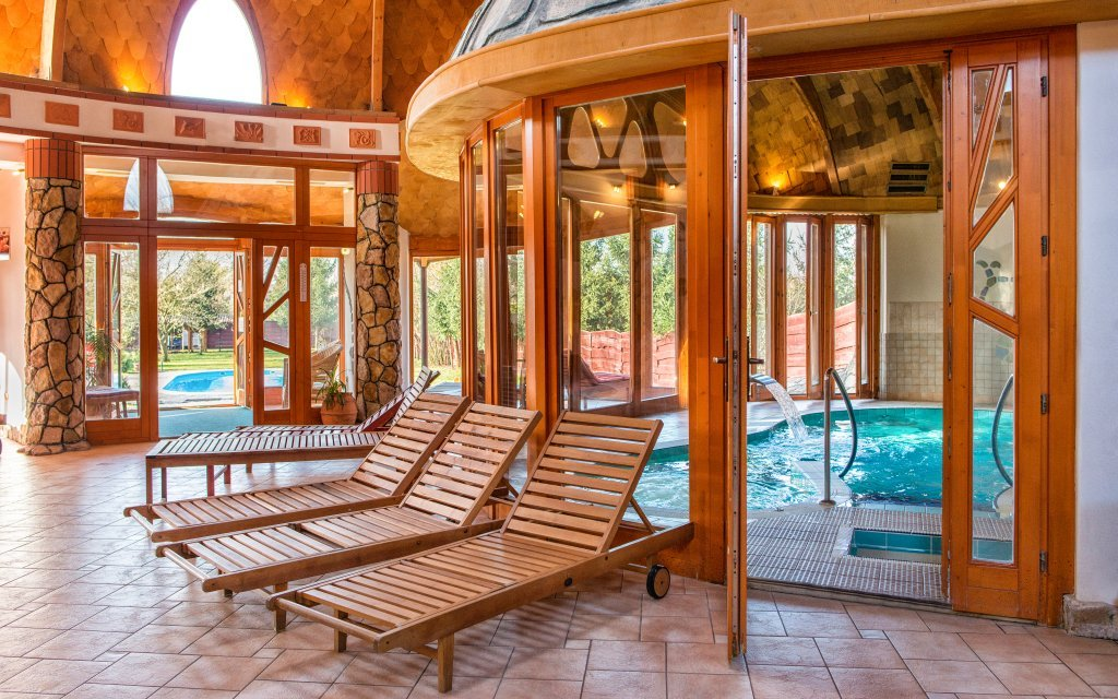 Obrázek Bük: Hotel Piroska **** s neomezeným wellness, polopenzí i vstupenkou do lázní není k dispozici