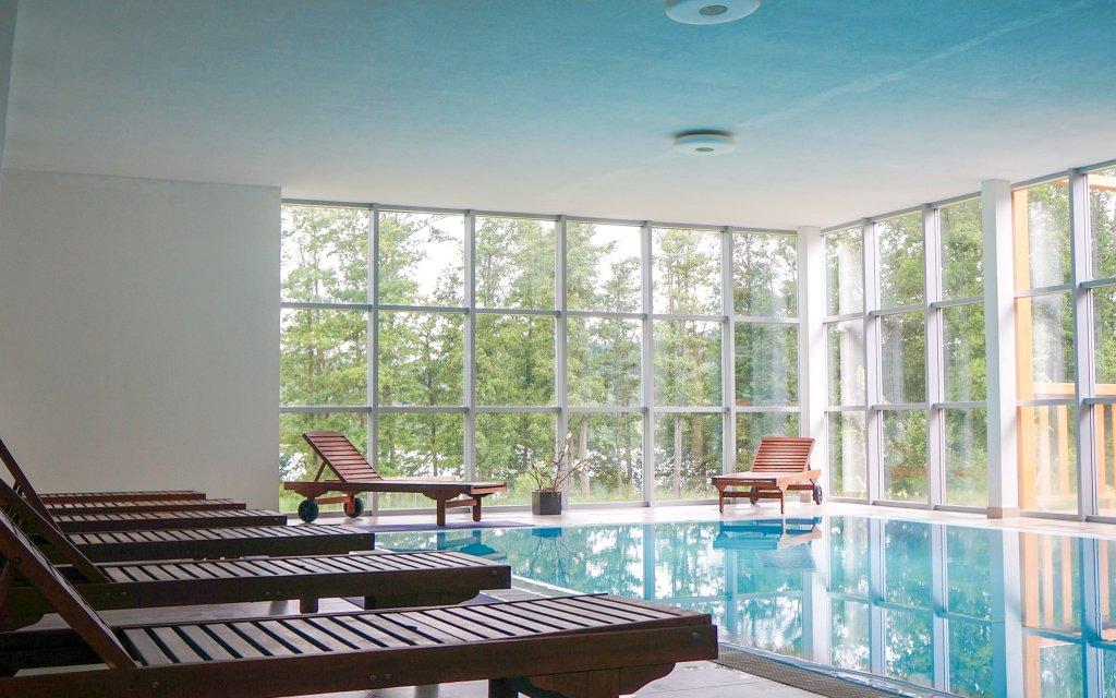 Lipno: Luxusní Hotel Orsino **** s polopenzí, neomezeným wellness a slevami